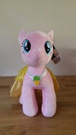 Build-A-Bear My Little Pony Pinkie Pie and Cape- new with tags.