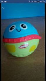 Playskool explore n grow activity ball great toddler/baby toy.