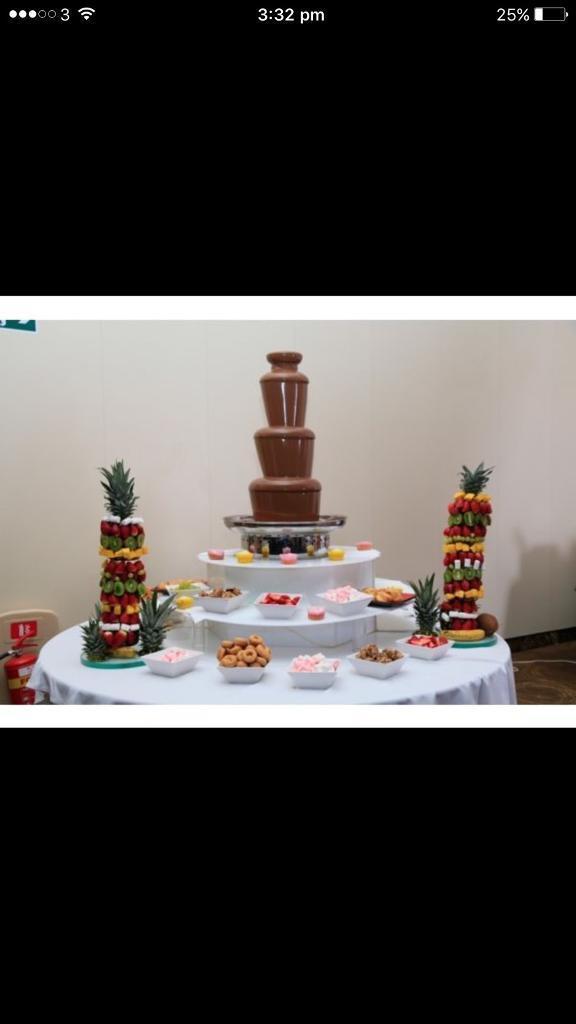 Chocolate Fountain Hire In Newham London Gumtree
