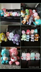 Care bear teddy collection pick a bundle or buy all.. Kids toys girls boys toys