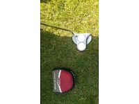 odyssey 2 ball putter, right handed.