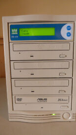 Wytron DVD-319 DVD & CD copier/duplicator. 1:3. Never used, as new and in mint condition.