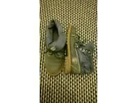 Navy Timberland boots 6.5 unisex