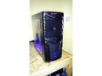 Custom built PC - Intel Core2Duo - 4GB RAM - 160GB - Win 10 - BARGAIN!!
