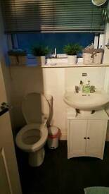 All white Bathroom suite