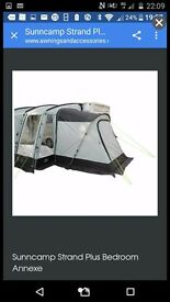 Suncamp strand 390 plus annexe awning