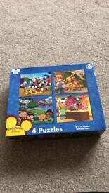Disney puzzles complete