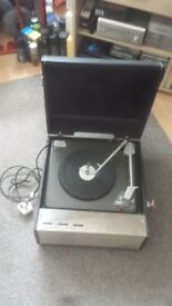 Classic vintage dynatron record player