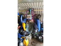 Adult size go kart with 200cc engine