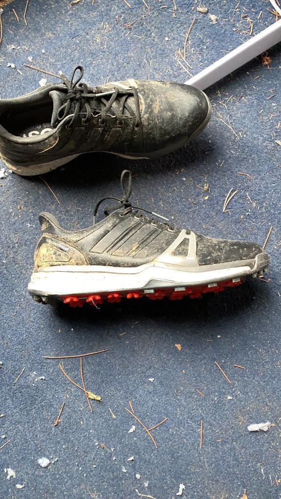 2188cfc69c2 UK size 9 Adidas Adiboost Golf shoes