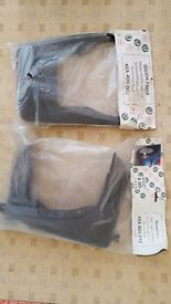 Skoda Fabia front and rear mud flaps