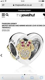 Pandora Mickey &minnie Love icons charm