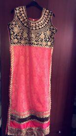 Pink party suit size 42 NEW UNWORN