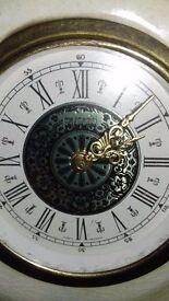 Ornamental Clock Branded Mercedes