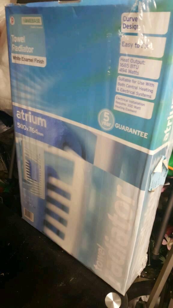 Shower radiator