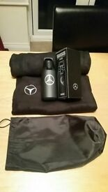Mercedes insulated flask and fleece