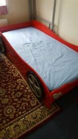 Single Bed - racing car childrens