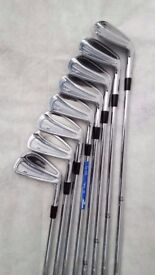 MIZUNO MP-58 True Temper Dynamic Gold R300 Steel Shaft Set of 8 Brand New