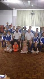 Under 11s football team