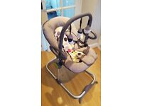 Baby rocking chair - Beaba Bouncing Chair rocker in excellent condition with Play Arch