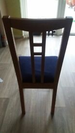 Ex Ikea Dining table and 4 chairs
