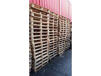 Constant supply of pallets for sale.