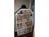 KidKraft dolls house barbie cindy wooden