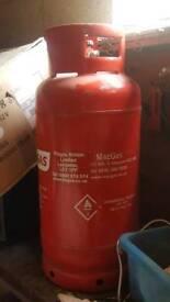 Propane BBQ gas cylinder