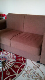 2seat and 3 seat Sofas 100 pounds both