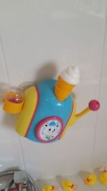 Foam cone factory activity toy for playing with in the bath