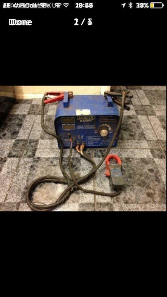 Draper Expert heavy duty battery/alternator load tester   in Poundbury,  Dorset   Gumtree