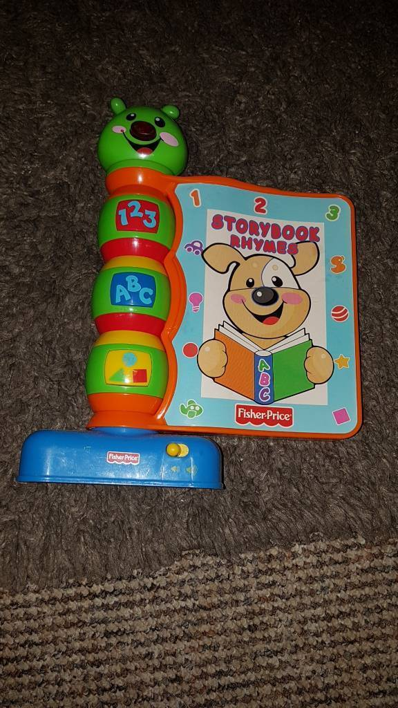 fisher price Storybook rhymes sing along