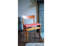 Vintage Retro Mid Century Dining Chairs - set of four