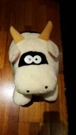 Large Cow Soft Toy