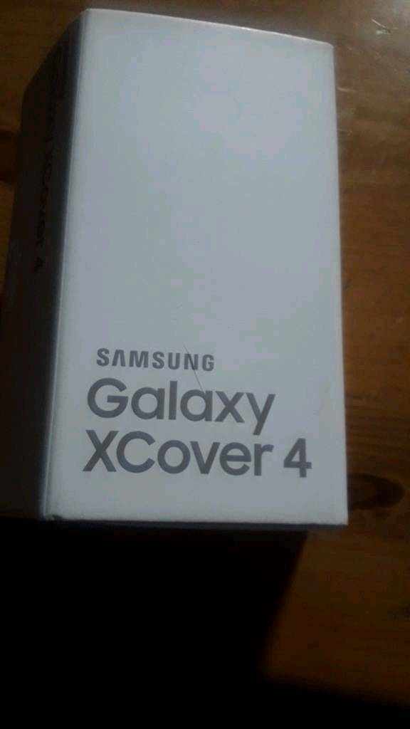 Samsung galaxy Xcover 4new unusedin Trafford, ManchesterGumtree - Samsung galaxy xcover 4 Sim free Brand new unused only released may 2017 £150 no offers best or last priceNo posting or PayPalCollection or delivery only Box opened to check contents and take pictures(£200 RRP) DESCRIPTIONThe Xcover 4 is designed...