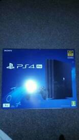 PS4 PRO 1TB Brand new Sealed with Manufacturers guarantee