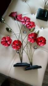 Poppy ornaments