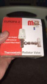 Radiator thermostat 15mn twin packs