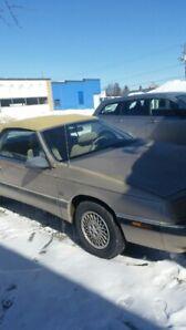 1992 Chrysler LeBaron V6 convertible