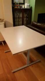 Grey desk, great condition