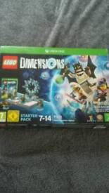 Xbox1 unopened lego dimesions starter pack