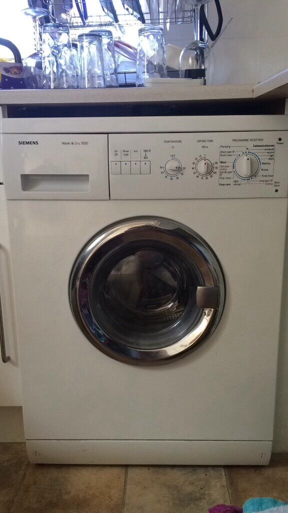 Siemens Washer/Dryerin Exmouth, DevonGumtree - Siemens washer/dryer The dryer is broken however the washing machine part works perfectly We are only selling due to not having enough room in the house for a separate tumble dryer Perfect for someone who has the room for both bit is looking for a...