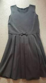 Girls grey school dress age 11/12