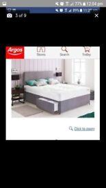 Big double divan bed