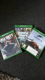 Xbox one games x3