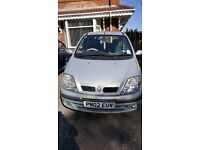Renault scenic extremely low mileage