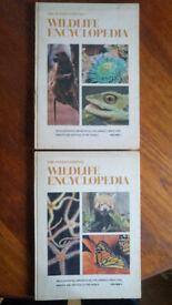 The International Wildlife Encyclopedia Vol 1 & 3 Rare 1969 1st Edition