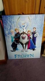 DISNEY FROZEN EXTRA LARGE CANVAS ANNA ELSA OLAF