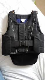 Barely worn adults small body protector