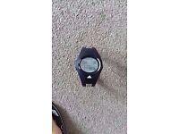 Black digital Adidas ADP6005 as new